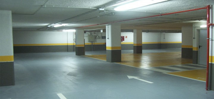 limpieza de parkings